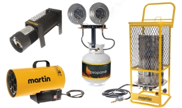 Propane Construction Heaters
